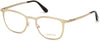 Tom Ford FT5464 Geometric Eyeglasses 028-028 - Shiny Rose Gold
