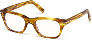Tom Ford Eyeglasses FT5536-B 045-045 - Shiny Light Brown