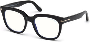 Tom Ford Eyeglasses FT5537-B 001-001 - Shiny Black