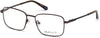 Gant GA3170 Rectangular Eyeglasses 049-049 - Matte Dark Brown