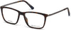 Gant GA3173 Rectangular Eyeglasses 052-052 - Dark Havana