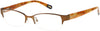 Gant GAA387 Eyeglasses Q11-Q11 - Satin Brown