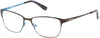 Guess By Marciano GM0238 Eyeglasses D96-D96 - Brown