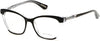 Guess By Marciano GM0287 Cat Eyeglasses 003-003 - Black/crystal