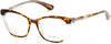 Guess By Marciano GM0287 Cat Eyeglasses 056-056 - Havana/other