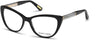 Guess By Marciano Cat GM0312 Eyeglasses 001-001 - Shiny Black
