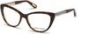 Guess By Marciano Cat GM0312 Eyeglasses 050-050 - Dark Brown/other
