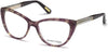 Guess By Marciano Cat GM0312 Eyeglasses 083-083 - Violet/other