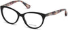 Guess By Marciano GM0315 Cat Eyeglasses 001-001 - Shiny Black