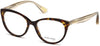 Guess By Marciano GM0315 Cat Eyeglasses 052-052 - Dark Havana