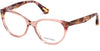Guess By Marciano GM0315 Cat Eyeglasses 072-072 - Shiny Pink