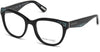 Guess By Marciano GM0319 Round Eyeglasses 001-001 - Shiny Black