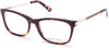 Guess By Marciano GM0324 Geometric Eyeglasses 056-056 - Havana