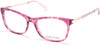 Guess By Marciano GM0324 Geometric Eyeglasses 074-074 - Pink
