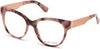 Guess By Marciano GM0357 Round Eyeglasses 074-074 - Pink