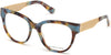Guess By Marciano GM0357 Round Eyeglasses 089-089 - Turquoise