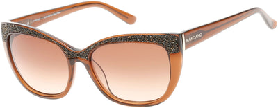 Guess By Marciano GM0730 Sunglasses 50F-50F - Dark Brown/other / Gradient Brown