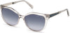 Guess By Marciano GM0804 Geometric Sunglasses 20W-20W - Grey / Gradient Blue