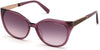 Guess By Marciano GM0804 Geometric Sunglasses 75Z-75Z - Shiny Fuxia / Gradient Or Mirror Violet