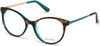 Guess GU2680 Round Eyeglasses 056-056 - Havana/other