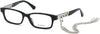 Guess GU2785 Rectangular Eyeglasses 001-001 - Shiny Black