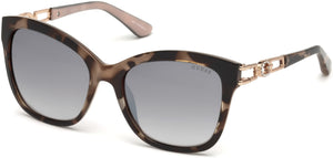 Guess Sunglasses GU7536-S 56F-56F - Havana/other / Gradient Brown