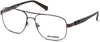 Harley-Davidson HD0783 Pilot Eyeglasses 049-049 - Matte Dark Brown