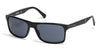 Harley-Davidson HD0918X Geometric Sunglasses 01A-01A - Shiny Black  / Smoke