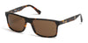Harley-Davidson HD0918X Geometric Sunglasses 52E-52E - Dark Havana / Brown