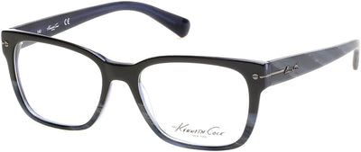 Kenneth Cole New York,Kenneth Cole Reaction KC0236 Eyeglasses 092-092 - Blue/other