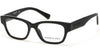 Kenneth Cole New York,Kenneth Cole Reaction Geometric KC0254 Eyeglasses 001-001 - Shiny Black