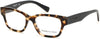Kenneth Cole New York,Kenneth Cole Reaction Geometric KC0254 Eyeglasses 053-053 - Blonde Havana