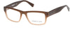 Kenneth Cole New York,Kenneth Cole Reaction KC0264 Eyeglasses 046-046 - Matte Light Brown