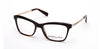 Kenneth Cole New York,Kenneth Cole Reaction KC0280 Geometric Eyeglasses 052-052 - Dark Havana