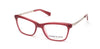 Kenneth Cole New York,Kenneth Cole Reaction KC0280 Geometric Eyeglasses 068-068 - Red