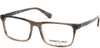 Kenneth Cole New York,Kenneth Cole Reaction KC0300 Rectangular Eyeglasses 020-020 - Grey