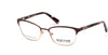 Kenneth Cole New York,Kenneth Cole Reaction KC0850 Square Eyeglasses 070-070 - Matte Bordeaux