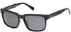Kenneth Cole New York,Kenneth Cole Reaction KC7214 Sunglasses 02D-02D - Matte Black / Smoke Polarized