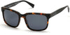 Kenneth Cole New York,Kenneth Cole Reaction KC7214 Sunglasses 52D-52D - Dark Havana / Smoke Polarized