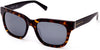 Kenneth Cole New York,Kenneth Cole Reaction KC7219 Sunglasses 52B-52B - Dark Havana / Gradient Smoke