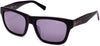 Kenneth Cole New York,Kenneth Cole Reaction KC7220 Sunglasses 02C-02C - Matte Black / Smoke Mirror