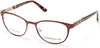 Marcolin MA5013 Cat Eyeglasses 046-046 - Matte Light Brown