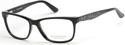 Rampage RA0158A Eyeglasses 001-001 - Shiny Black