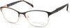 Viva VV8002 Square Eyeglasses 005-005 - Black