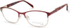 Viva VV8002 Square Eyeglasses 071-071 - Bordeaux