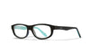 WILEY X WX Bounce Eyeglasses  Matte Black 48-16-135