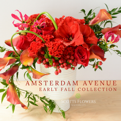 Amsterdam Avenue original design by Scotts Flowers NYC