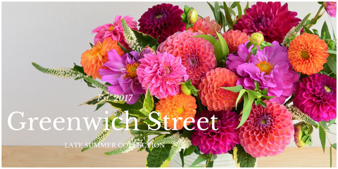 Greenwich Street by Scotts Flowers NYC Summer Collection 2017