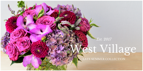 West Village by Scotts Flowers NYC Summer Collection 2017