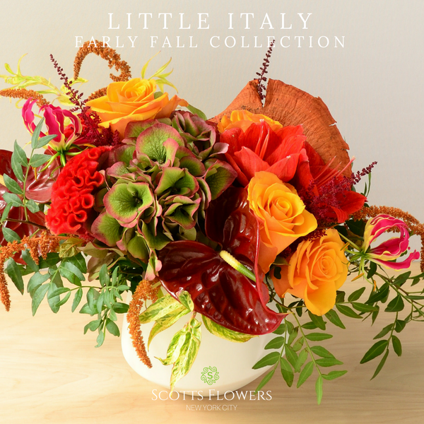 Little Italy original design by Scotts Flowers NYC